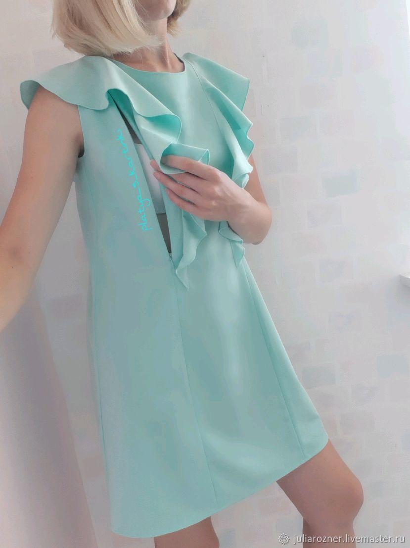 Одежда для кормления. Для будущих и молодых мам ручной работы. Ярмарка  Мастеров - ручная работа. Купить Платье ... 0e9f2361730