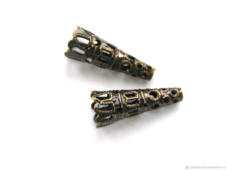End cone cap beads, Accessories4, Tyumen,  Фото №1
