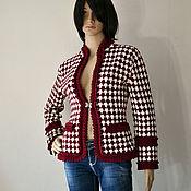 Одежда handmade. Livemaster - original item Crochet Tweed Jacket.. Handmade.