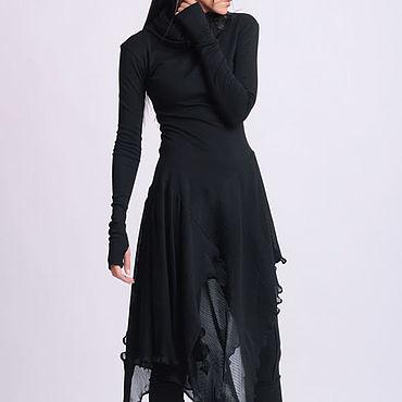 Одежда ручной работы. Ярмарка Мастеров - ручная работа Платье- туника гофре. Handmade.