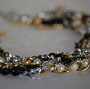 Аксессуары ручной работы. Ярмарка Мастеров - ручная работа Колье, воротник, ожерелье. Handmade.