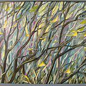 """Картины и панно ручной работы. Ярмарка Мастеров - ручная работа """"Движение"""". Handmade."""