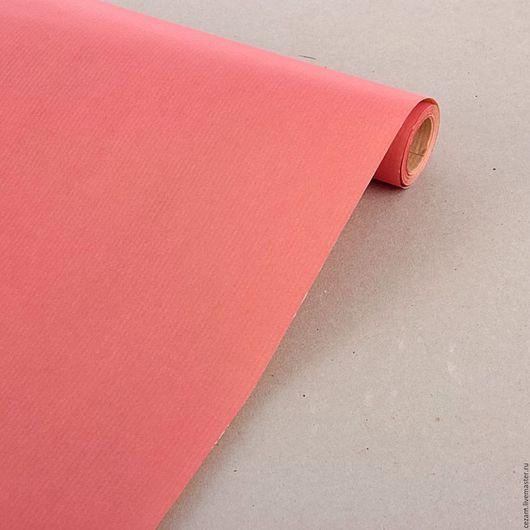 Упаковка ручной работы. Ярмарка Мастеров - ручная работа. Купить Бумага крафт розовая. Handmade. Крафт, бумага крафт, упаковка