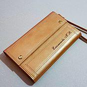 Сумки и аксессуары handmade. Livemaster - original item Purse-clutch No. 3 bronze-gold. Handmade.