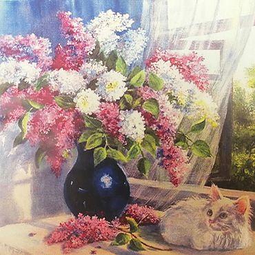 Материалы для творчества ручной работы. Ярмарка Мастеров - ручная работа Алмазная вышивка Gt70509. Handmade.