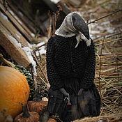 Куклы и игрушки handmade. Livemaster - original item Gertrude and pumpkin.. Handmade.