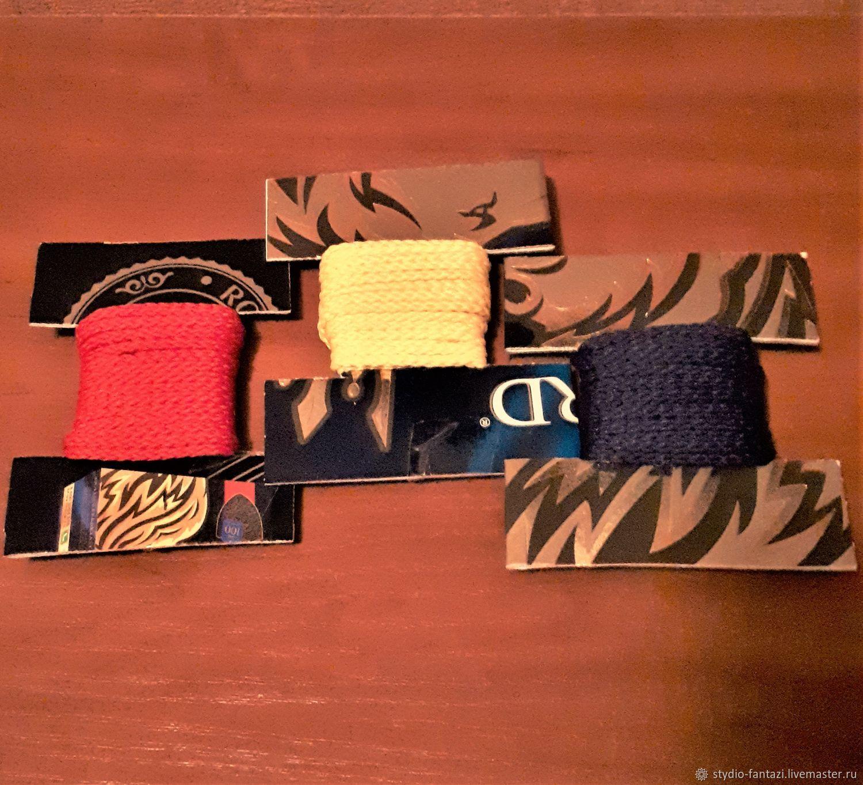 Шнур плетеный хлопковый  2,8 мм, Для украшений, Санкт-Петербург, Фото №1