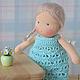 Вальдорфская игрушка ручной работы. Ярмарка Мастеров - ручная работа. Купить Вальдорфская кукла Алина, 15 см. Handmade.