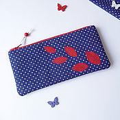 Beauticians handmade. Livemaster - original item Cosmetic bag - purse