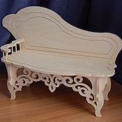 Материалы для творчества handmade. Livemaster - original item Doll sofa.191.. Handmade.
