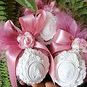 Елочные игрушки ручной работы. Ярмарка Мастеров - ручная работа Новогодние шары ручной работы в бархате. Handmade.