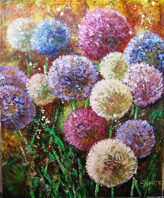 """Картины цветов ручной работы. Ярмарка Мастеров - ручная работа. Купить """"Прекрасный look 5"""" картина маслом на холсте. Handmade."""