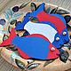 Аксессуары для фотосессий ручной работы. Ярмарка Мастеров - ручная работа. Купить Рыбки Морские для фотосессии или праздника Красные Синие Декор. Handmade.