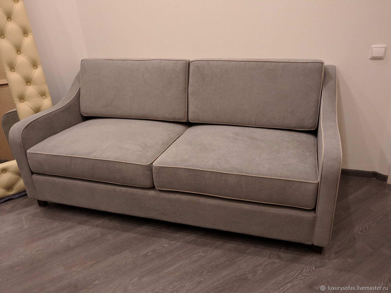 прямой двухместный диван спенсер