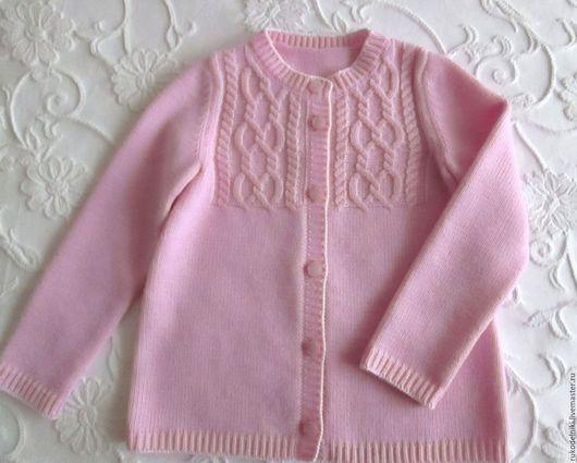 Кофты и свитера ручной работы. Ярмарка Мастеров - ручная работа. Купить Кофта для девочки  Любимые араны 2. Handmade.