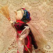 Куклы и игрушки ручной работы. Ярмарка Мастеров - ручная работа Кукла оберег Баба Яга. Handmade.