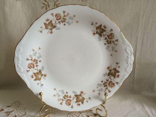 Винтажная посуда. Ярмарка Мастеров - ручная работа. Купить Красивое винтажное блюдо, Colclough, Англия. Handmade. Комбинированный, фарфор