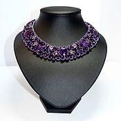"Украшения handmade. Livemaster - original item Necklace ""Amethyst Queen"". Handmade."