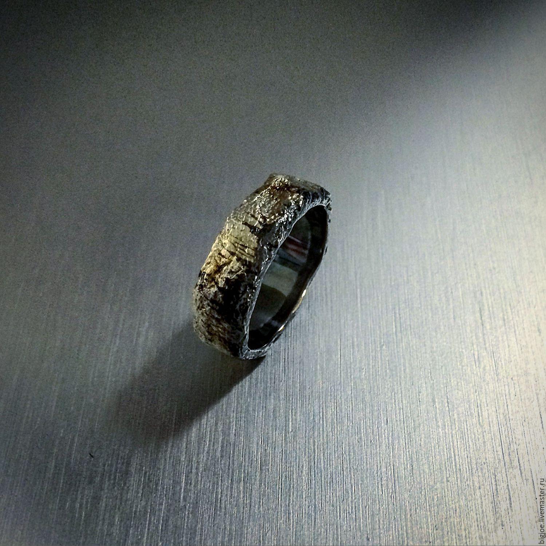 необычные серебряные кольца