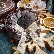 """Украшения ручной работы. Ярмарка Мастеров - ручная работа Брошь """" Broun sugar"""". Handmade."""