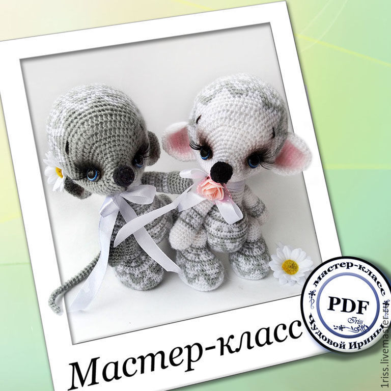 Master-class 'Mice-malista' (description of the knitting), Patterns for dolls and toys, Bryansk,  Фото №1