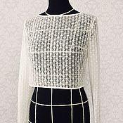 Свадебный салон handmade. Livemaster - original item Lace top. Handmade.