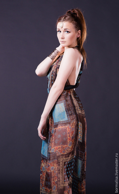 Платья ручной работы. Ярмарка Мастеров - ручная работа. Купить Шахеризада. Handmade. Платье летнее, платье для выпускного, индийский стиль