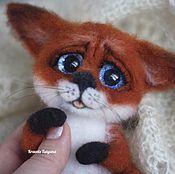 Куклы и игрушки handmade. Livemaster - original item Fox Ksenia. Handmade.