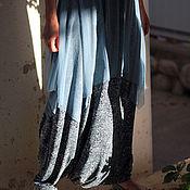 Одежда ручной работы. Ярмарка Мастеров - ручная работа Комплект Юбка-брюки из лайкры и топ. Handmade.