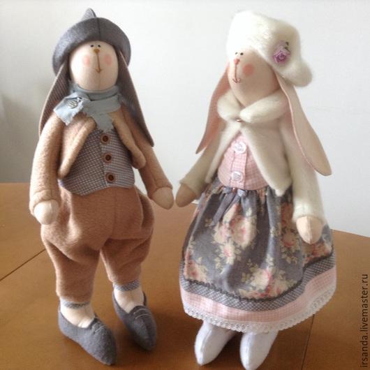 Куклы Тильды ручной работы. Ярмарка Мастеров - ручная работа. Купить Заяц тильда. Handmade. Тильда, кукла интерьерная