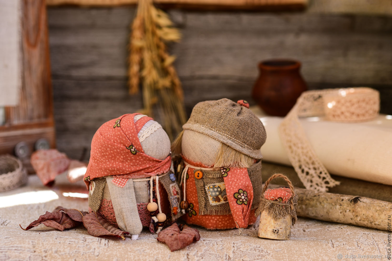 "Куклы обереги КРУПЕНИЧКА и БОГАЧ ПОДОСИНОВИКИ"", Folk Dolls, Novokuznetsk,  Фото №1"