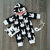 Jumpsuits handmade. Livemaster - original item Romper for baby.. Handmade.