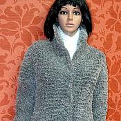 """Одежда ручной работы. Ярмарка Мастеров - ручная работа кардиган-куртка """"Серый мех"""". Handmade."""