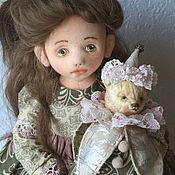 Куклы и пупсы ручной работы. Ярмарка Мастеров - ручная работа Текстильная кукла Полинка. Handmade.