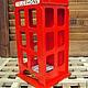 """Кухня ручной работы. Ярмарка Мастеров - ручная работа. Купить Чайный домик """"Английская телефонная будка"""". Handmade. Ярко-красный"""