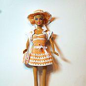 Куклы и игрушки ручной работы. Ярмарка Мастеров - ручная работа Наряд для кукол Барби Акция см. блог. Handmade.