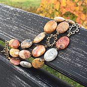Украшения handmade. Livemaster - original item Bracelet Almost Boldin. Natural agate, accessories Anna Black. Handmade.