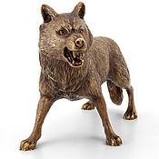 Статуэтки ручной работы. Ярмарка Мастеров - ручная работа Волк. Handmade.