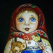 """Куклы и игрушки ручной работы. Ярмарка Мастеров - ручная работа Неваляшка """"Танюша"""". Handmade."""