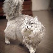 Куклы и игрушки handmade. Livemaster - original item Persian cat . Realistic toy. Handmade.