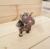 Куклы и игрушки handmade. Livemaster - original item Mongol horse. Handmade.
