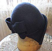 """Аксессуары ручной работы. Ярмарка Мастеров - ручная работа Валяная шляпка """"Ретро"""". Handmade."""