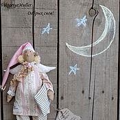 Куклы и игрушки ручной работы. Ярмарка Мастеров - ручная работа кукла тильда ручной работы СПЛЮШКА В РОЗОВОМ. Handmade.