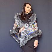 Аксессуары handmade. Livemaster - original item Pavlovo Posad shawl