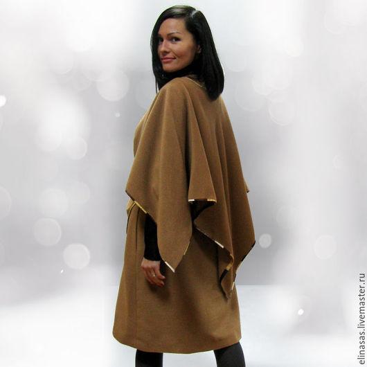 """Верхняя одежда ручной работы. Ярмарка Мастеров - ручная работа. Купить Пальто """"Лондон"""". Handmade. Лондон, коричнеый"""