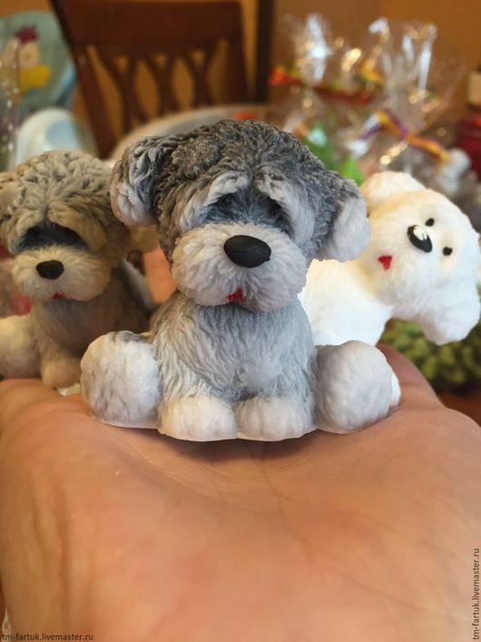 Мыло ручной работы. Ярмарка Мастеров - ручная работа. Купить Мыльце собачка. Handmade. Чёрно-белый, собака, собачка, собаки