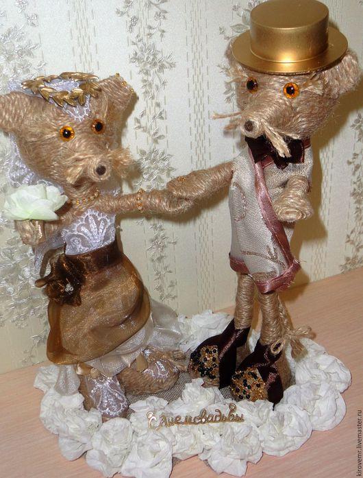 Подарок на свадьбу `Свадьба крысок`