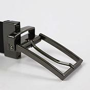 Ремни ручной работы. Ярмарка Мастеров - ручная работа Ремни: Пряжка поворотная для ремня HA376 35 мм блэк никель. Handmade.