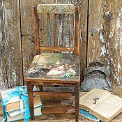 """Для дома и интерьера ручной работы. Ярмарка Мастеров - ручная работа Стульчик """"Королевский"""". Handmade."""