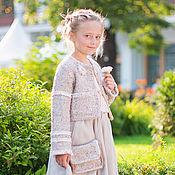 Одежда ручной работы. Ярмарка Мастеров - ручная работа Жакет для девочки. Handmade.